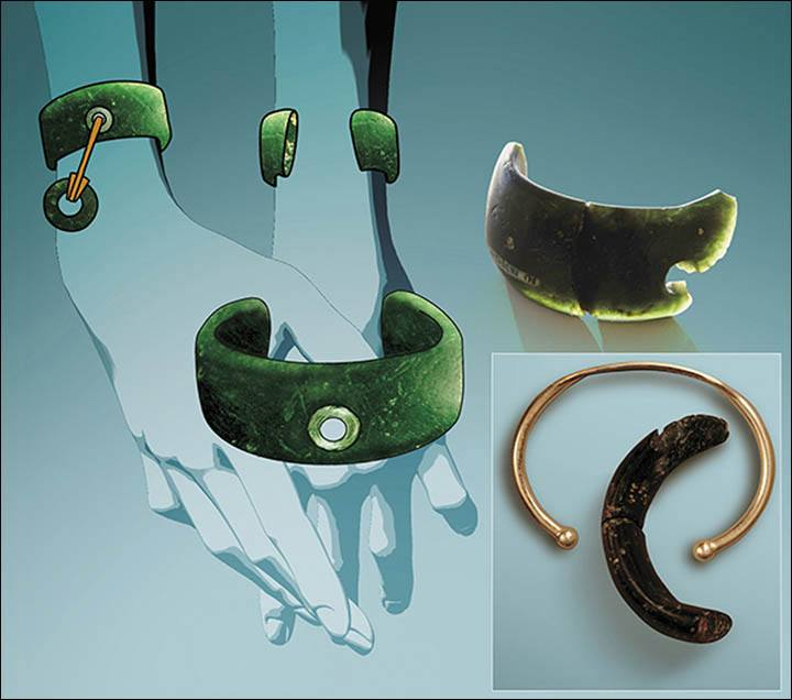 Oldest Jewelry Ever Found Reconstruction