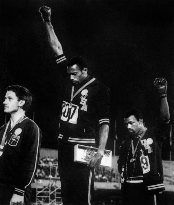 Olympic Salute Black Power