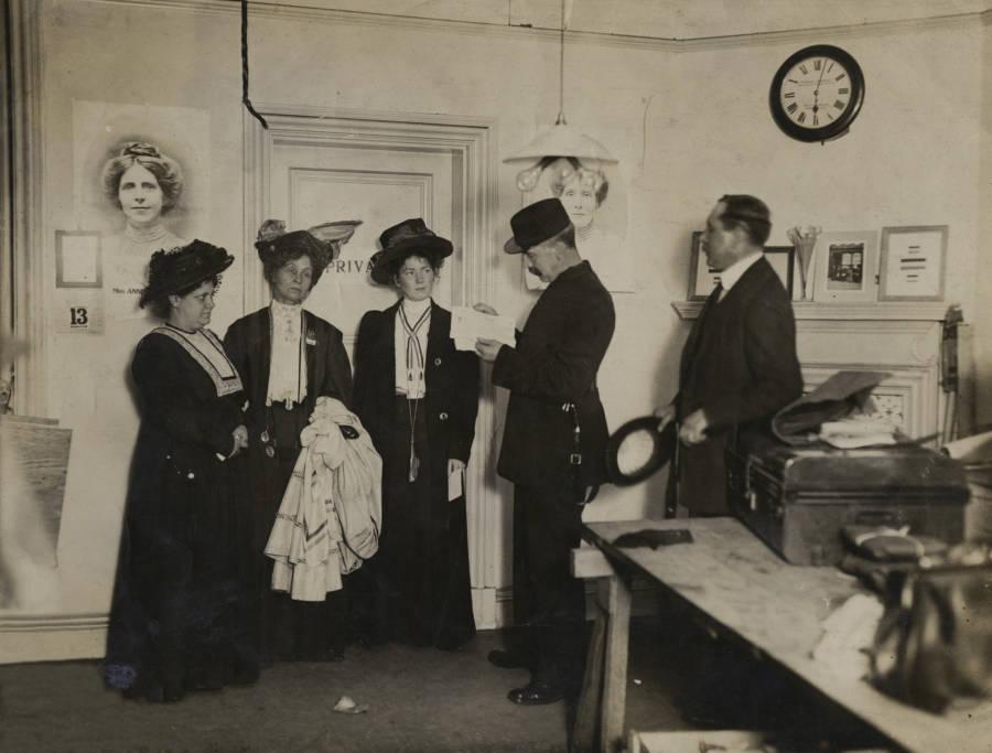 Pankhurst Arrested In Office