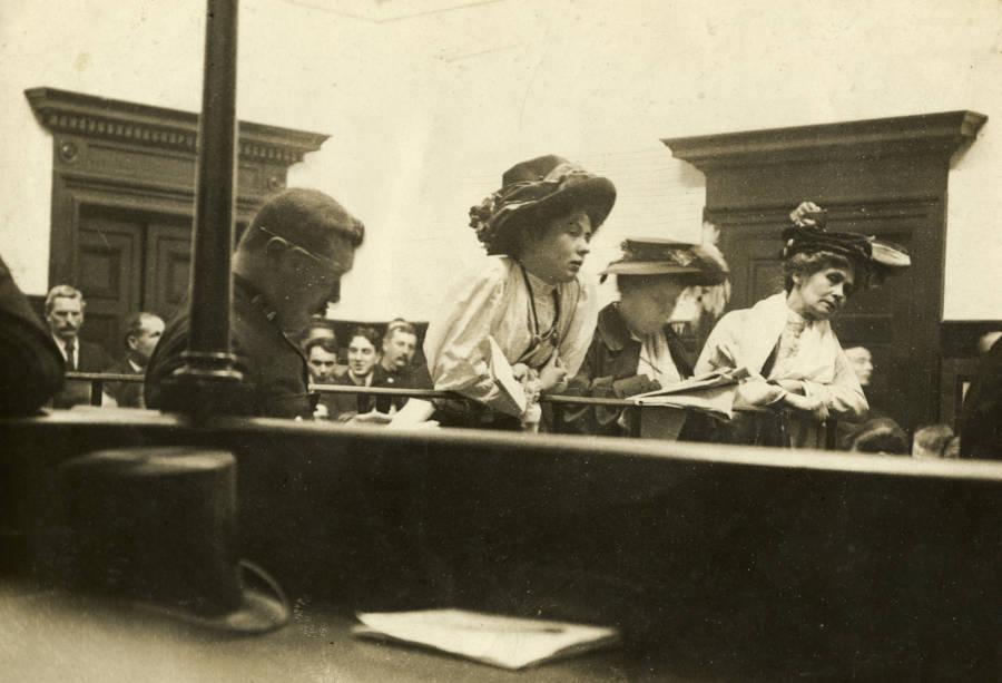 Pankhurst In Court