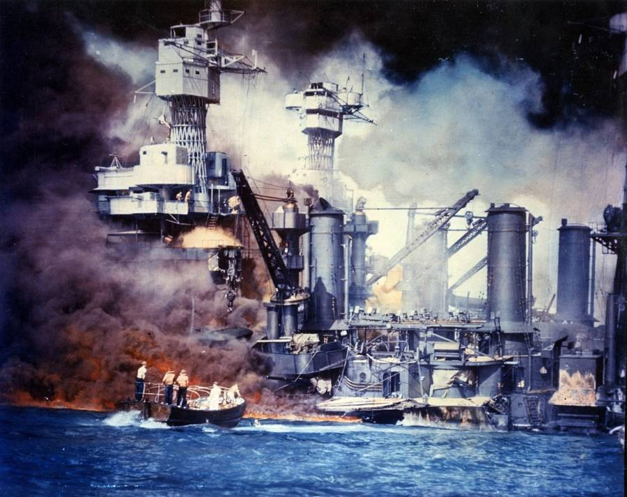 Pearl Harbor Fires