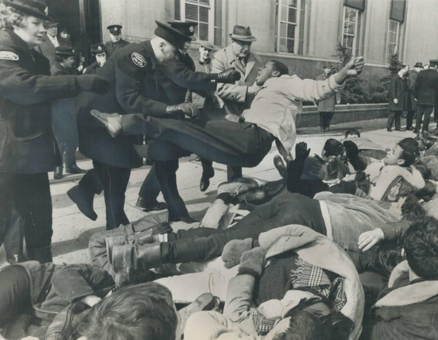 Police Toss