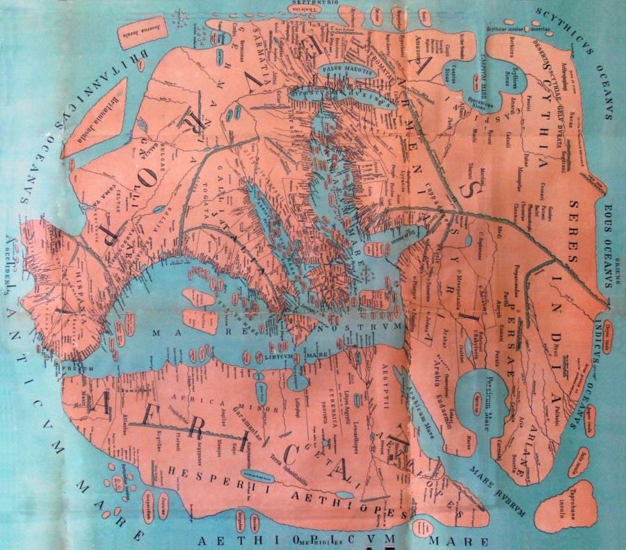 Pomponious Mela World Map