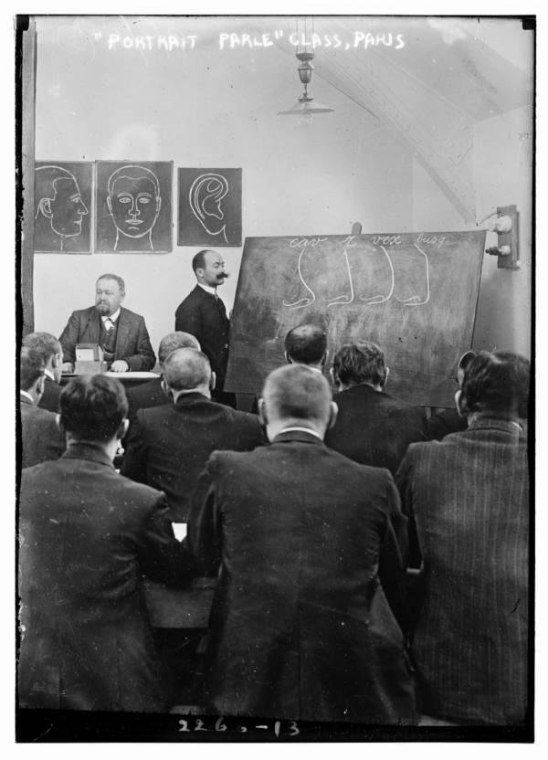 Portrait Parle Class Paris