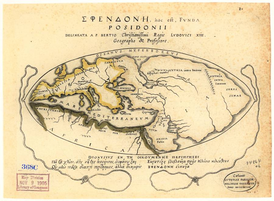 Posidonius Early World Maps