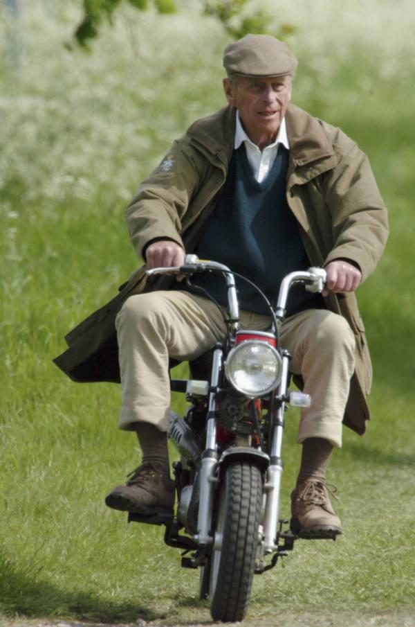Prince Philip Bike