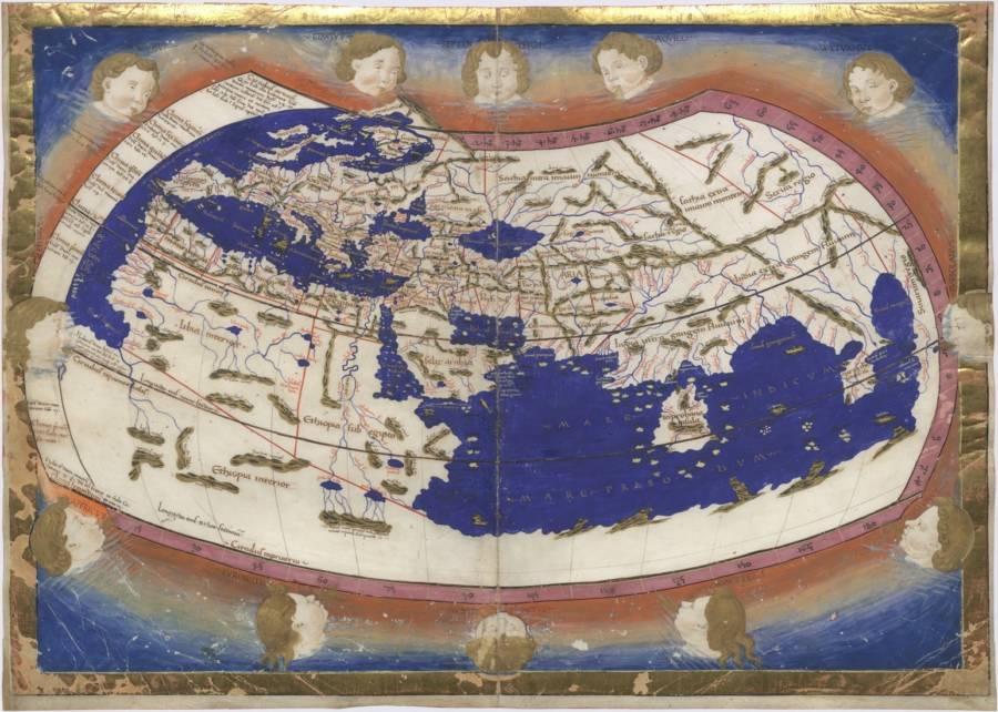 29 ancient world maps so inaccurate theyre downright comical ptolemy early world maps gumiabroncs Gallery
