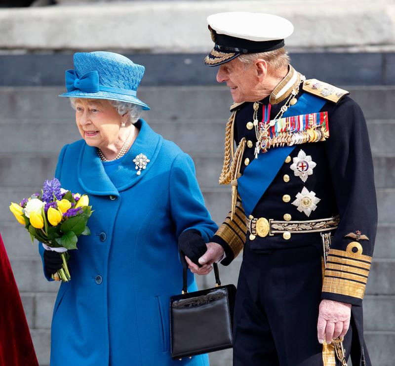 Queen Elizabeth Blue