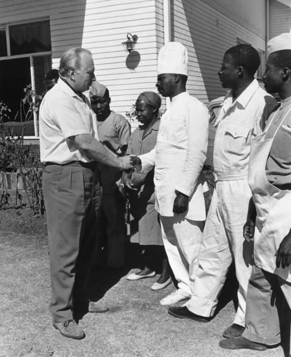 Ron Hubbard Rhodesian Farewell