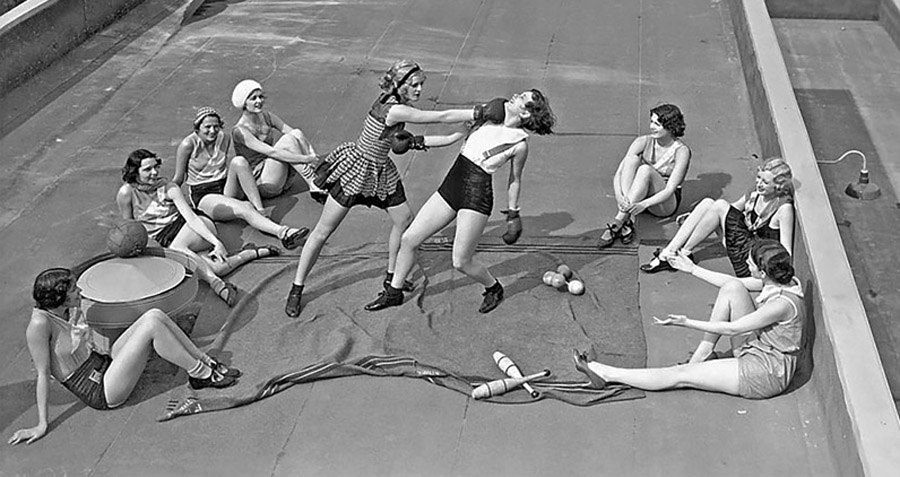 Women's Boxing: A Surprising And Brutal Photo History