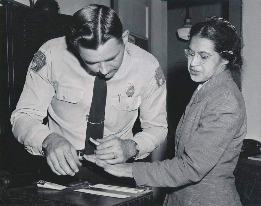 Rosa Parks Arrest Cop