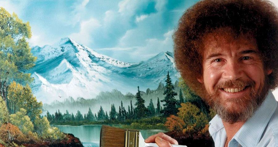 Behind The Happy Little Trees: The Surprising Backstory Of Bob Ross