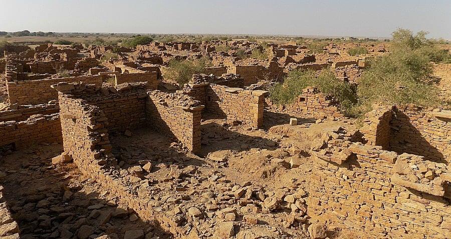 Ruins Kuldhara India Abandoned Mysterious