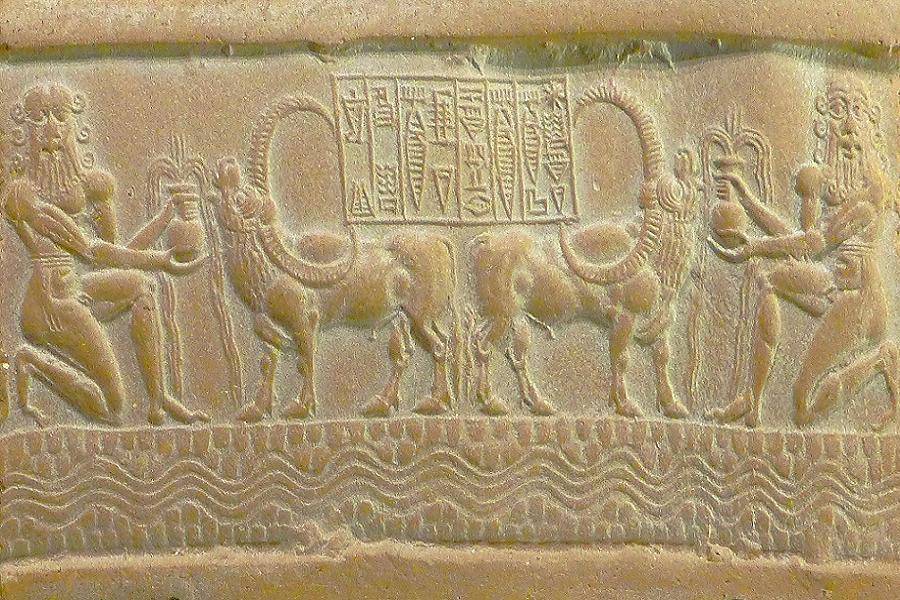 Sabbath Akkadian Seal