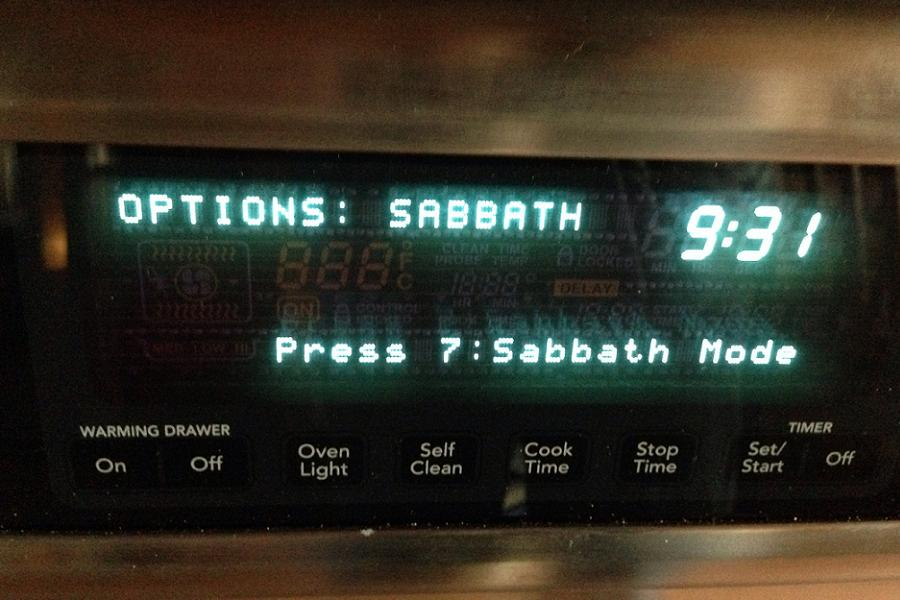 Sabbath Oven Mode