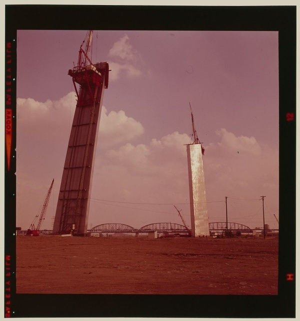 Saint Louis Arch Construction