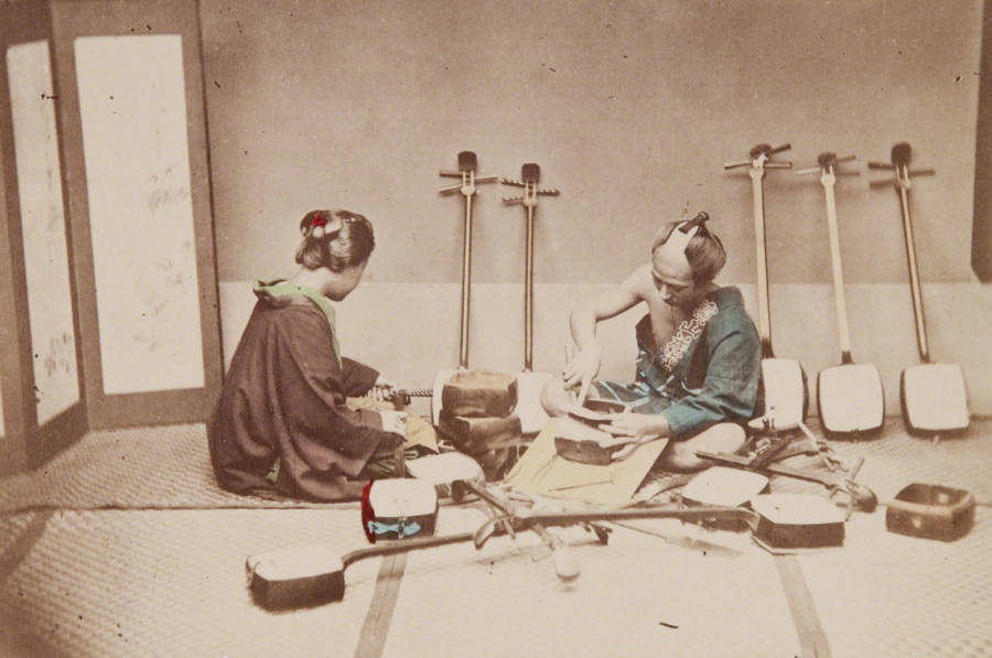 Samisen Maker And Repairer