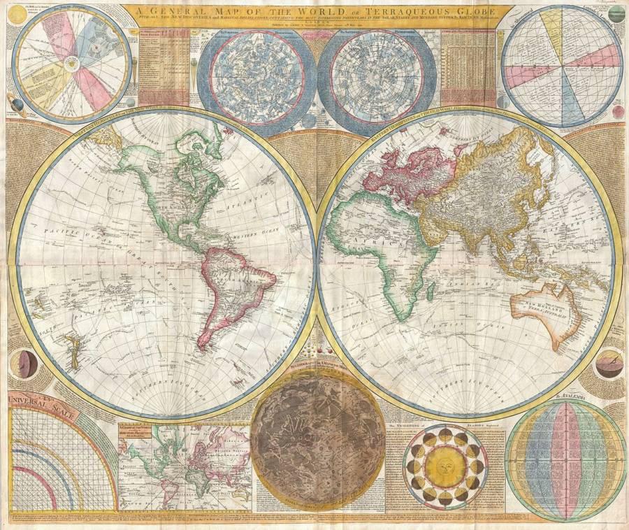 Samuel Dunn Wall Map