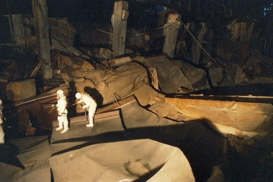 Sarcophagus Inspection