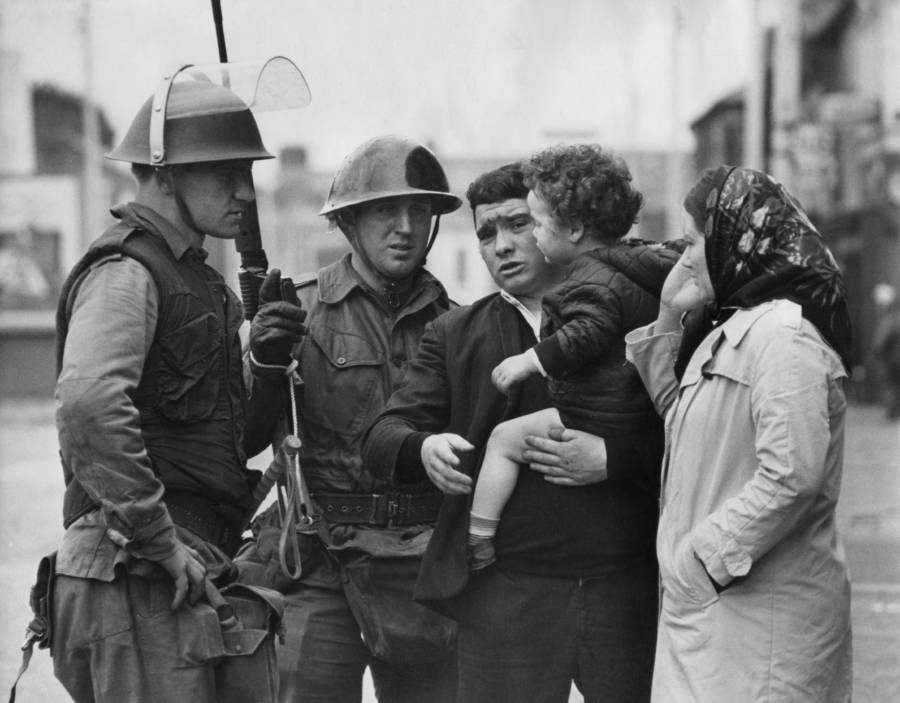 Soldiers Parents Child