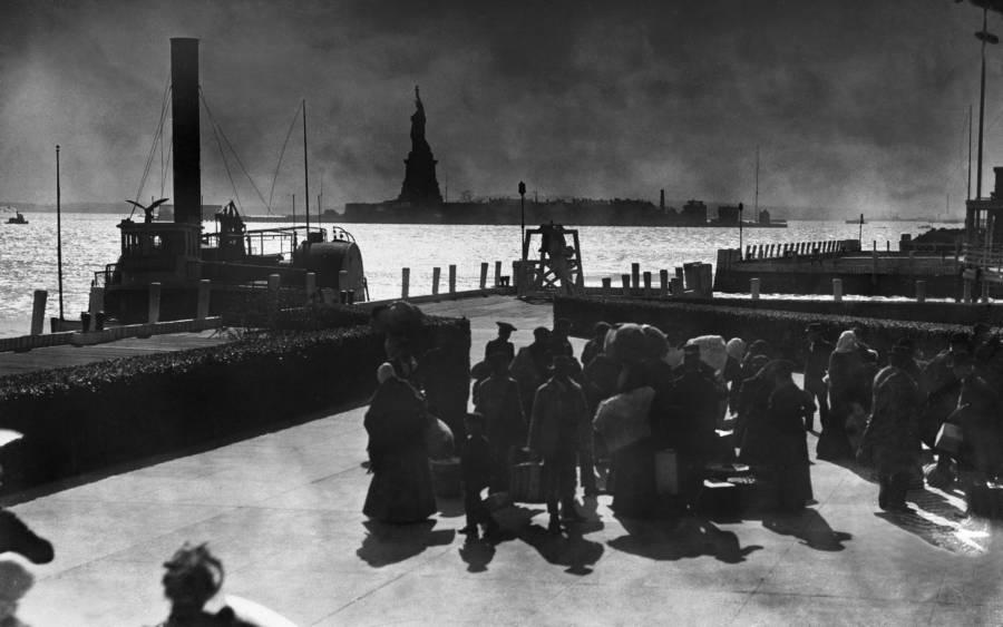 Statue Of Liberty Immigrants