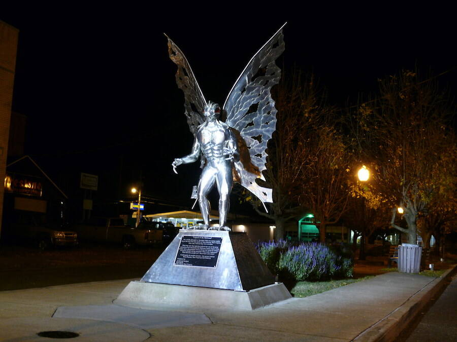 Statue Of Mothman