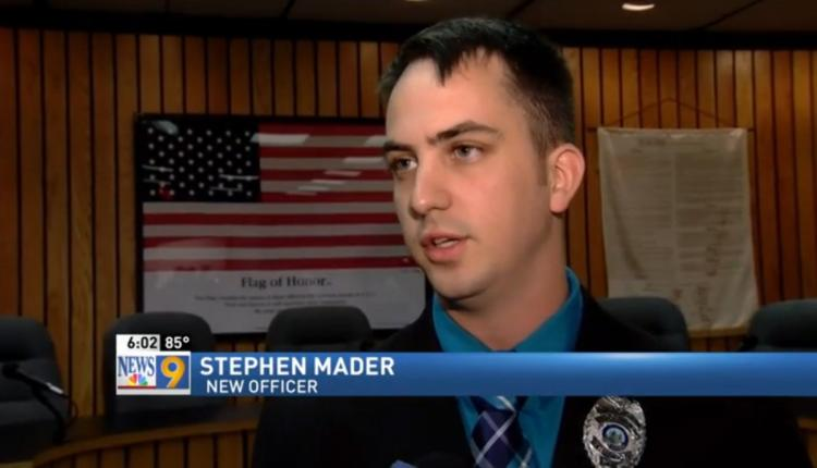 Stephen Mader Badge