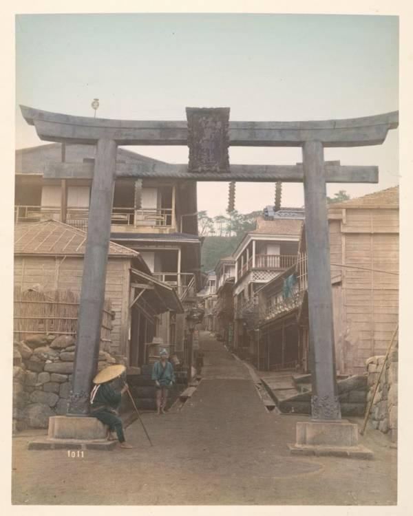 Street In Yenoshima