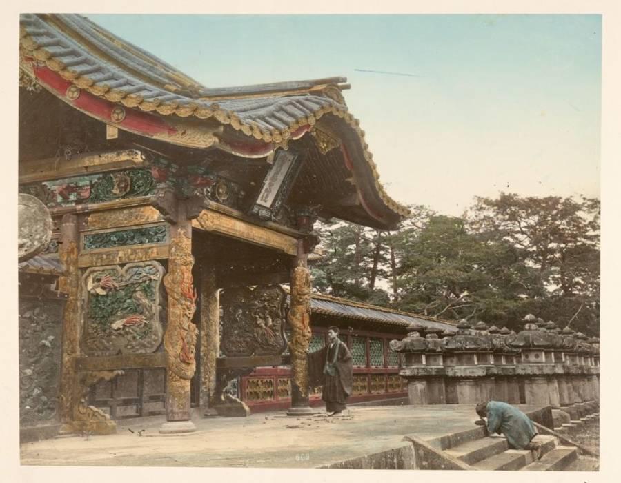 Temple At Shiba Tokio