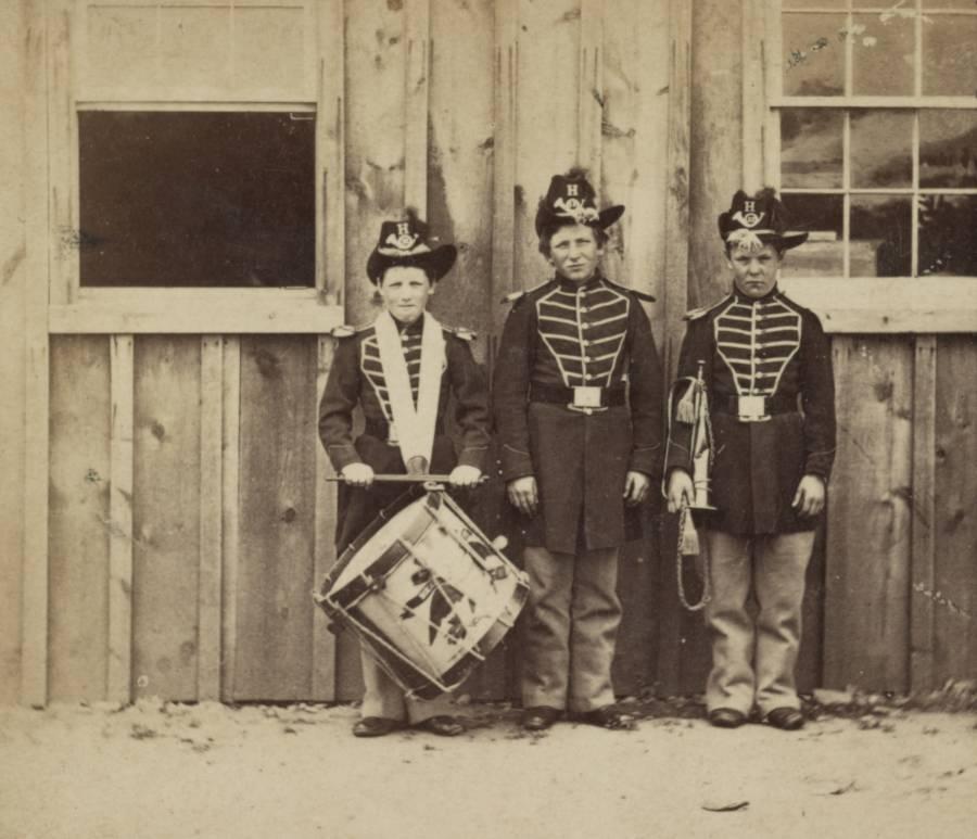 Three Drummer Boys