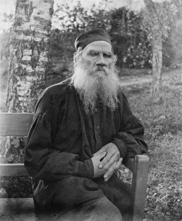 Tolstoy Seated