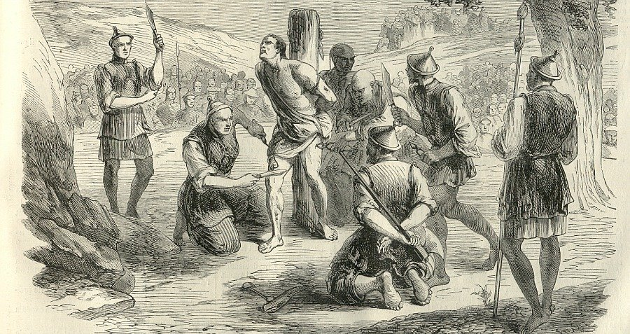 Lingchi Death By Thousand Cuts Illustration