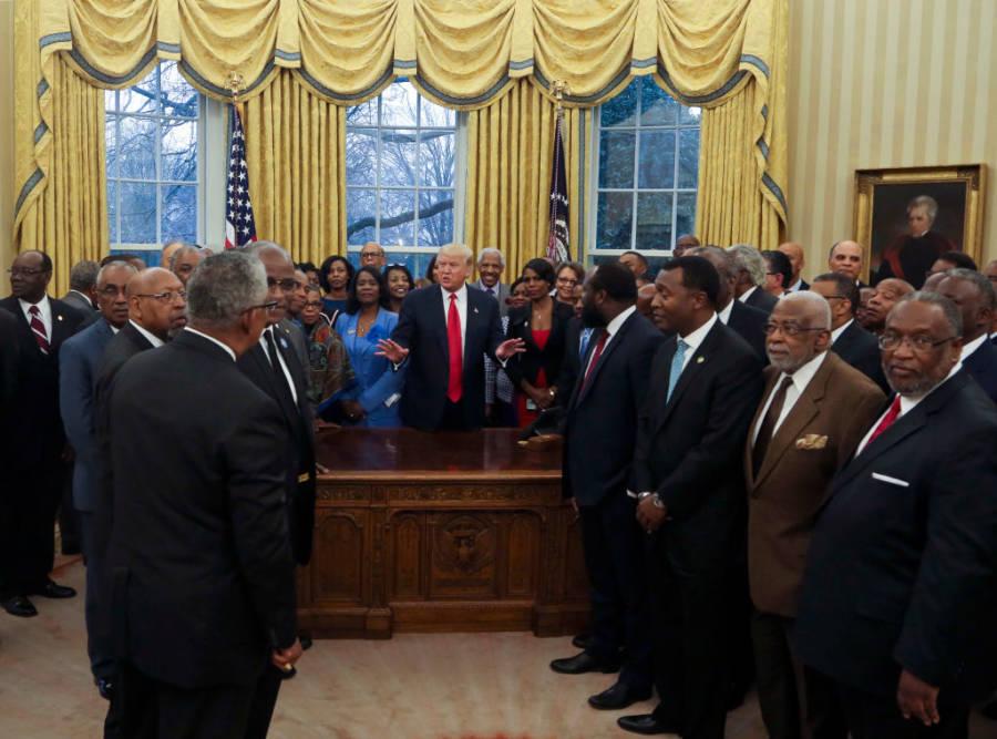 Trump Black People