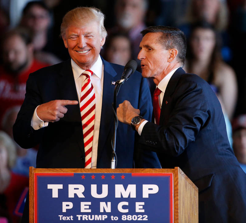 Trump Sensitive Documents Flynn