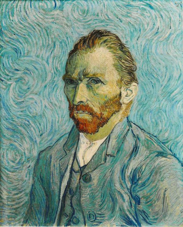 Van Gogh Painted Portrait