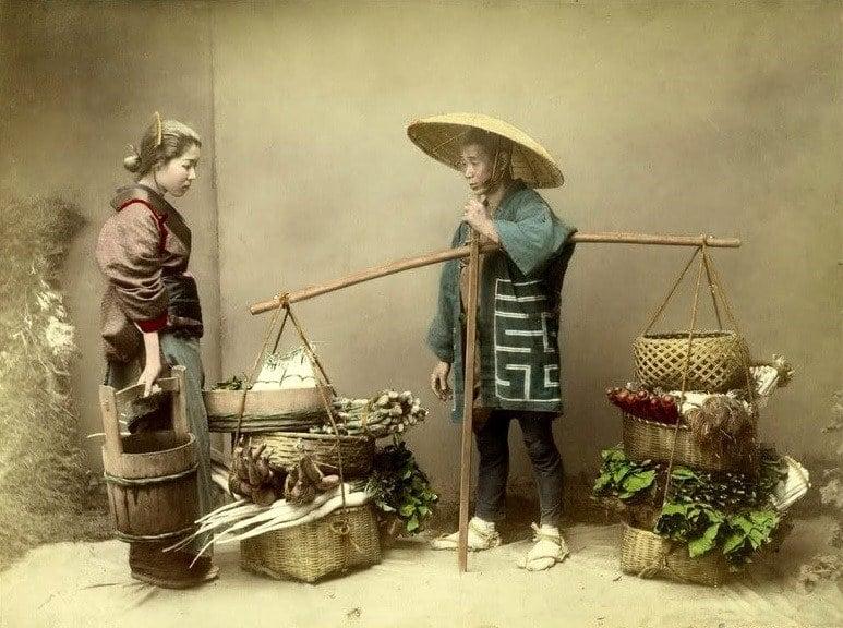 Vegetable Peddler