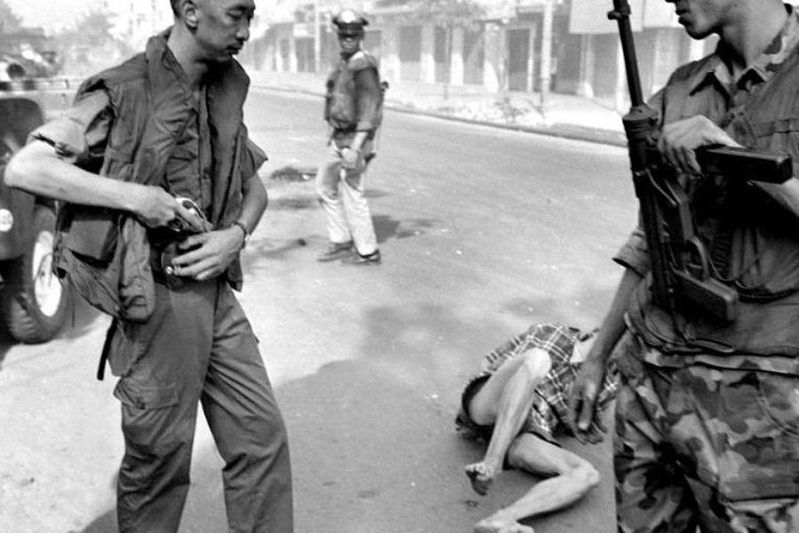 Vietnam Execution After Shooting