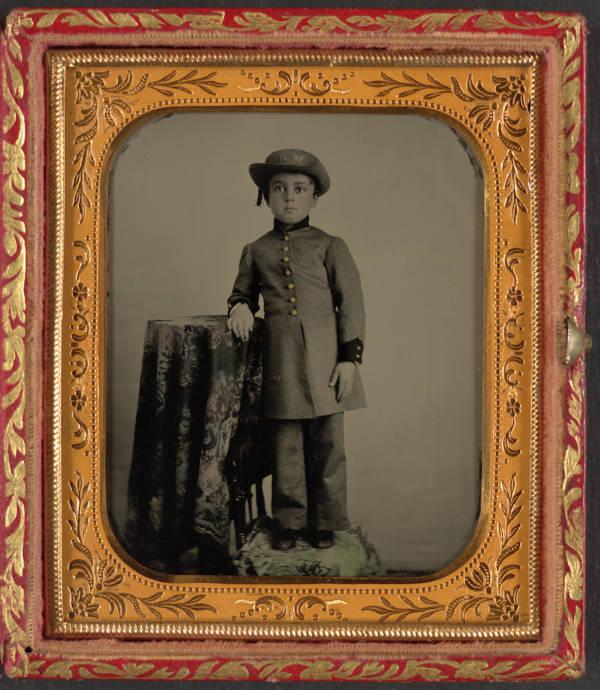 Washington Rifles Child Soldier