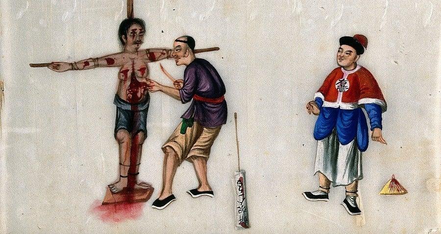 Lingchi Ancient Chinese Torture Punishment