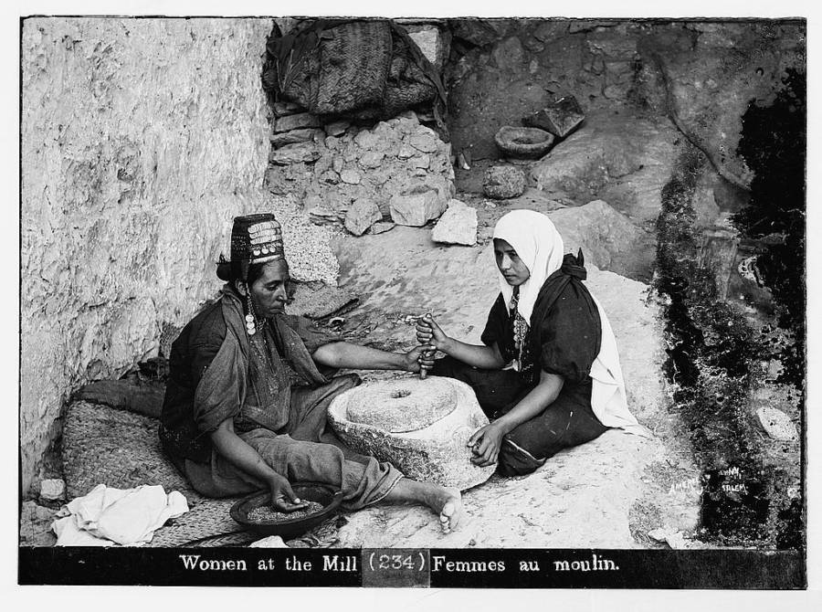 Women At The Mill