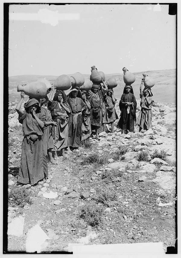 Women Carrying Water Jars