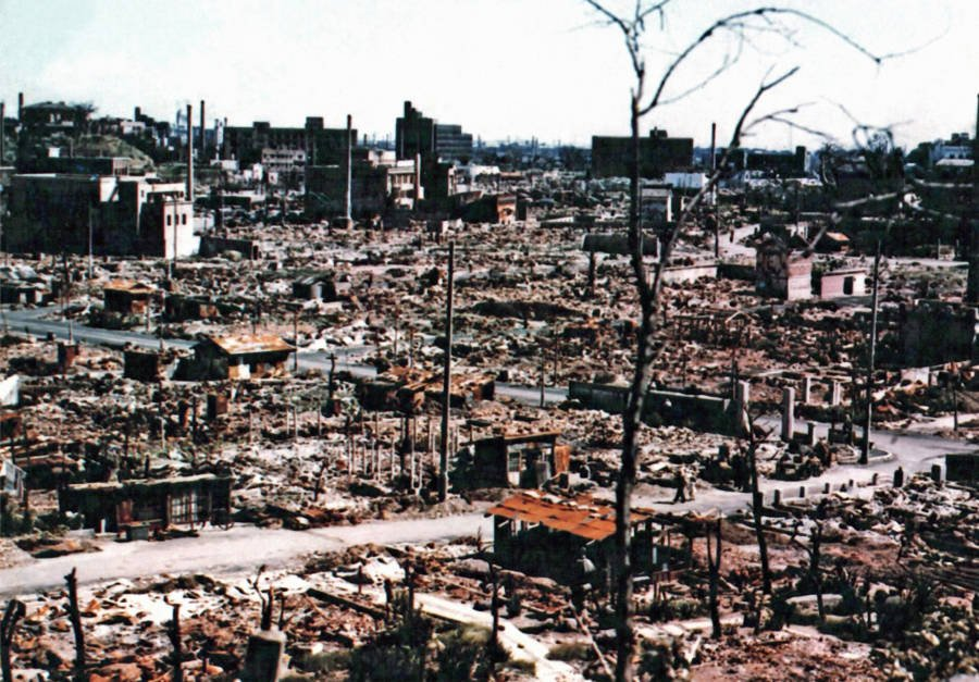 World War 2 In Color Aftermath