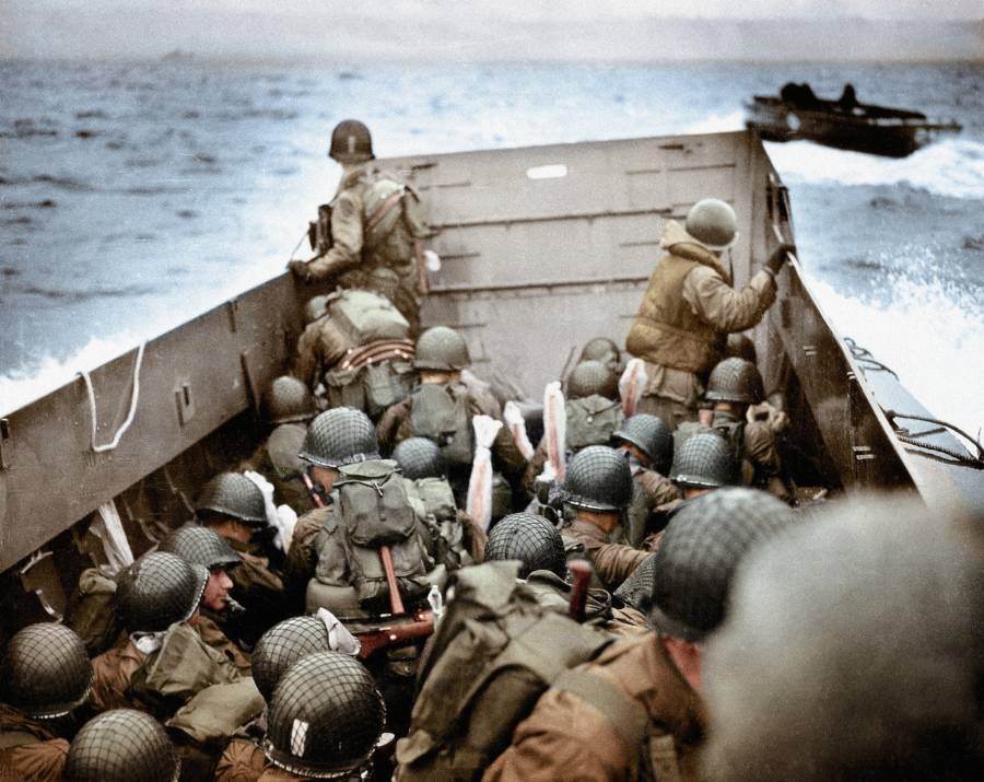 World War 2 In Color D Day