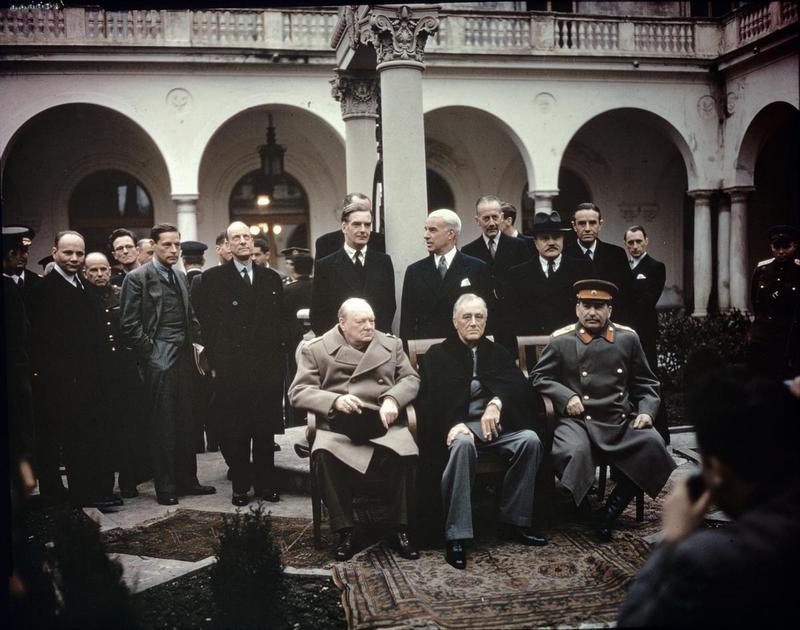 Yalta Conference Gathering