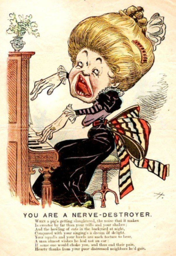 Vinegar Valentines: 21 Mocking Cards Of The Victorians Era