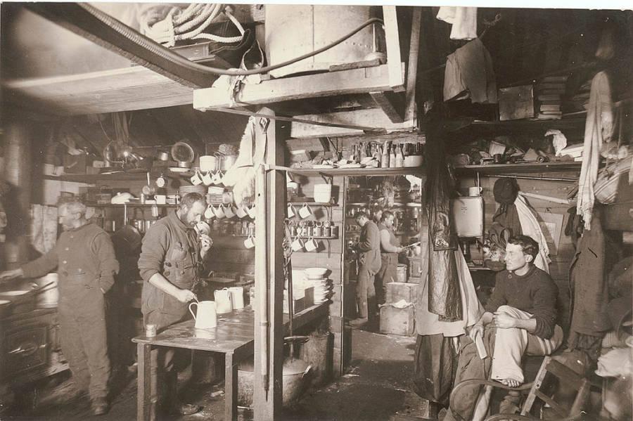 Antarctic Exploration Kitchen