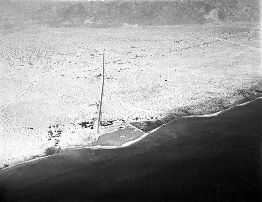 Aerial View Salton Sea