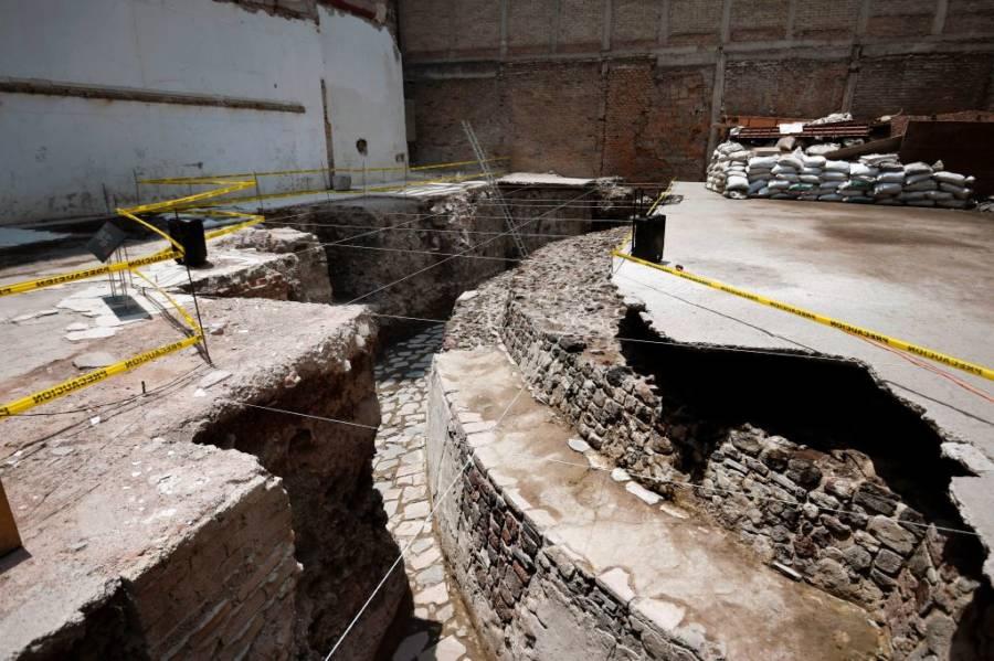 Aztec Temple Mexico City Steps