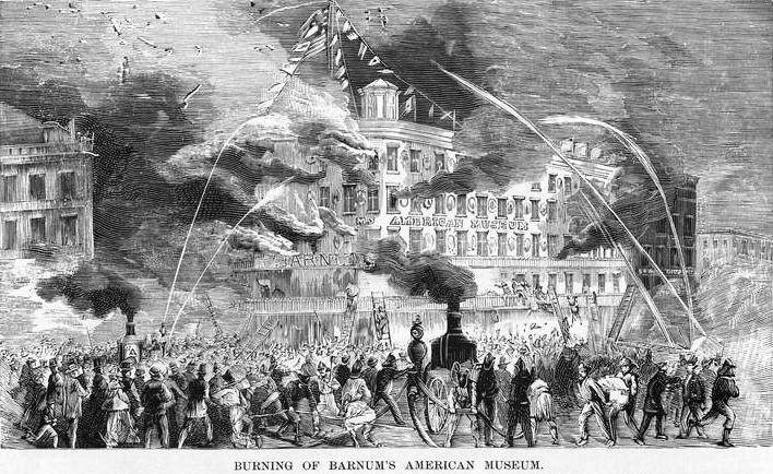 Barnum Museum Burns