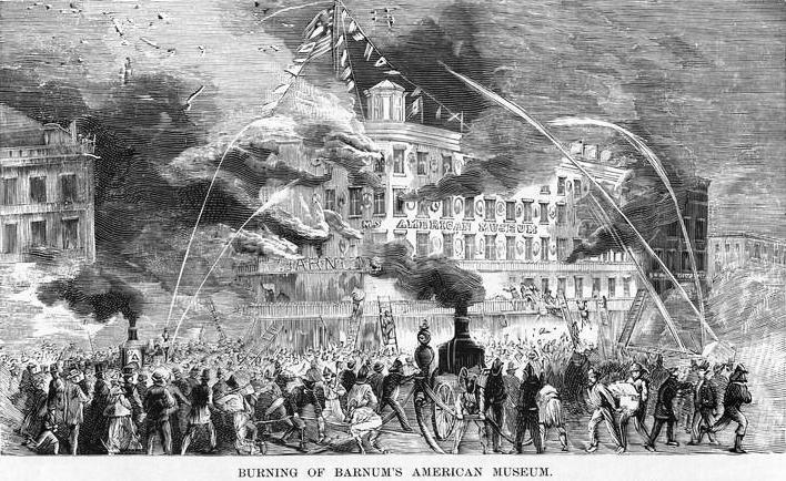 Barnum Museum Burns